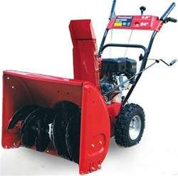 High Quality 6.5 HP Gas Powered 24 Snow Blower at Sears.com
