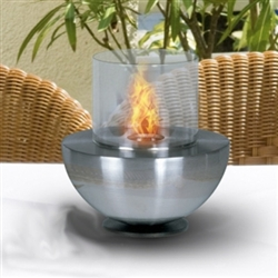 Spherical Glass Fire