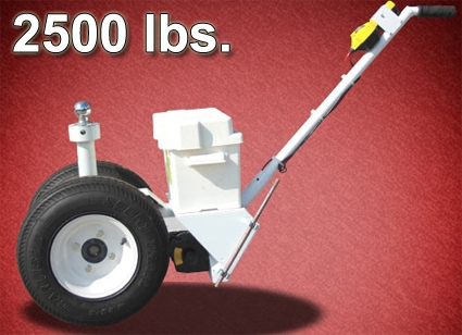 Pit P S on Electric Trailer Dolly