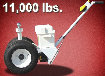 11 000 lbs electric powered rv trailer dolly for Motorized trailer dolly rental