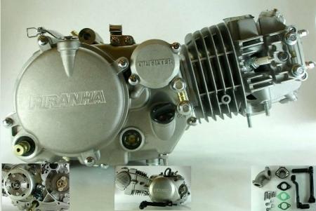 piranha 150cc kick start pit bike complete engine