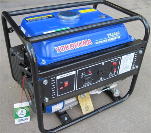 Portable 1500 W Gas electric Generator