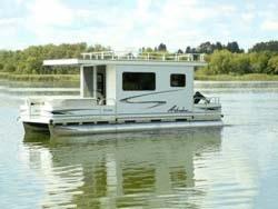 8 X 26 Day Boat Pontoon Houseboat W Trailer Motor