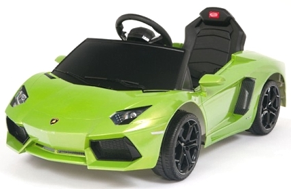 Brand New Kids Ride On Power Wheels RC Remote Lamborghini Aventador Car