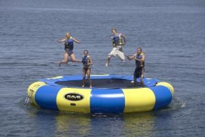 Aqua Jump Eclipse 20' Inflatable Floating Water Bouncer
