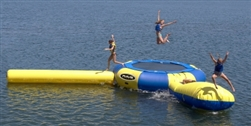 Brand New Aqua Jump Eclipse 20' Water Park