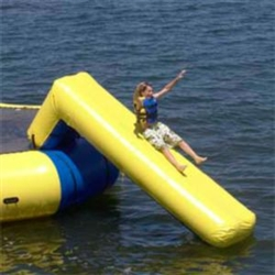Aqua Slide Attachment for Aqua Jump Eclipse Water Trampoline / Bongo Bounce Platform