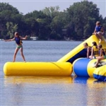 Aqua Log Small Attachment for Aqua Jump Eclipse Water Trampoline / Bongo Bounce Platform