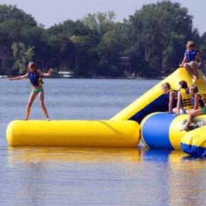 Aqua Log Small Attachment for Aqua Jump Eclipse Water Trampoline /...