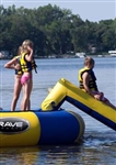 Aqua Slide Small Attachment for Aqua Jump Eclipse Water Trampoline / Bongo Bounce Platform