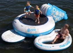 O-Zone 5 Foot Inflatable Floating Water Bouncer