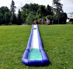Brand New Turbo Chute Hill & Lake Water Slide