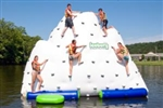 Brand New 14' Iceberg Inflatable Climbing Wall and Water Slide