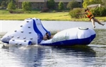 Avalanche Inflatable Floating Climbing Wall / Water Slide / Catapult
