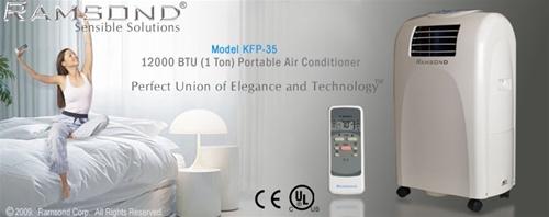 Ramsond Portable Air Conditioner 12 000 Btu