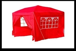 Red Party Canopy