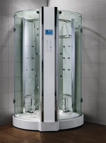 Zen luxury 2 person walk in steam shower 47 x 47 x 89 - Luxury steam showers ...