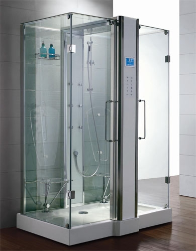 zen luxury 2 person two door walk in steam shower 59 x 36 x 89