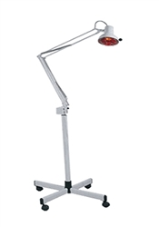 Round Infrared Lamp w/ Adjustable Arm