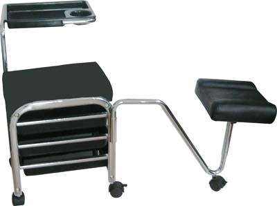 Portable pedicure chair for Mobile nail technician table