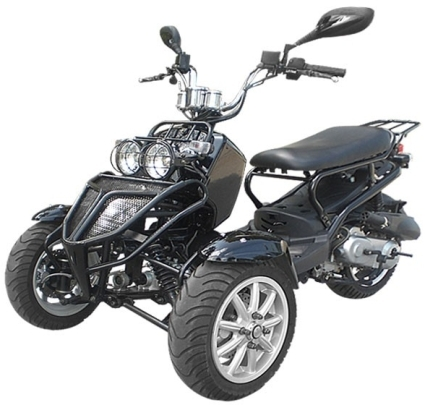 150cc three wheel ruckus style trike scooter moped for 3 wheel motor scooter for sale