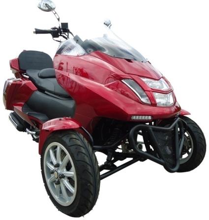 mc d300tkb 4 stroke 300cc trike scooter moped. Black Bedroom Furniture Sets. Home Design Ideas