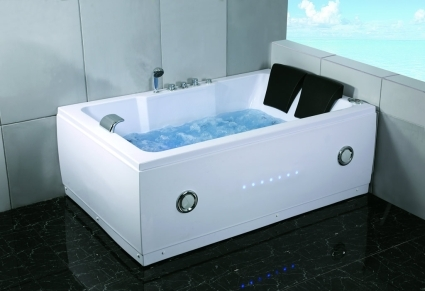 Whisper Brand New Two Person Computerized Whirlpool Jacuzzi Bath Hot Tub Spa W Hydro Therapy Jets