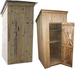 High Quality Outdoor Decor and More Outhouse Storage Shed