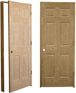 Quality american heritage oak pre hung solid wood 6 panel interior high quality american heritage oak pre hung solid wood 6 panel interior door planetlyrics Images