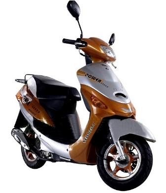 50cc 4 Stroke Velocity Moped Scooter