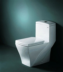 Granada - Royal Contemporary European Toilet with Dual Flush