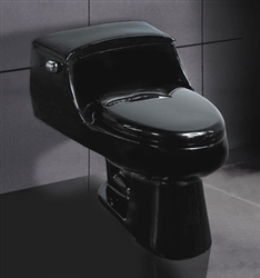 Black Ariel A-327 Contemporary European Toilet