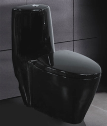 Black Ariel A-328 Contemporary European Toilet