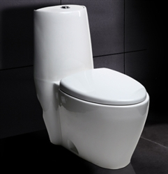 Ariel 328 Contemporary European Toilet with Dual Flush