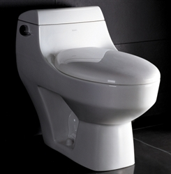 The Athena - Ariel Platinum AP108 Contemporary European Toilet