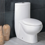 The Hermes - Ariel Platinum AP309 Contemporary European Toilet