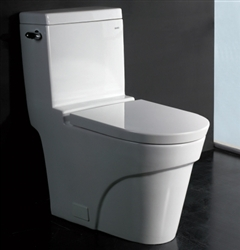 The Oceanus - Ariel Platinum AP326 Contemporary European Toilet