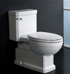 The Vesta - Ariel Platinum AP337 Contemporary European Toilet