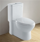 Royal 1037 Dual Flush Contemporary European Toilet