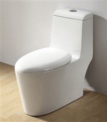 Royal 1042 Dual Flush Contemporary European Toilet