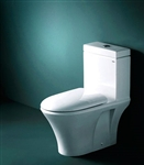 The Milano - Royal 1003 Contemporary European Toilet with Dual Flush