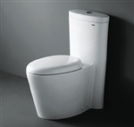 The Monterey - Royal 1009 Contemporary European Toilet with Dual Flush