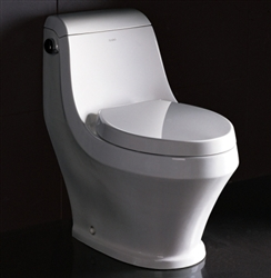 Ariel Platinum TB133M Contemporary European Toilet