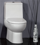 The Camilla - Ariel Platinum Contemporary European Toilet with Dual Flush
