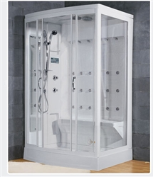 Jetted Steam Shower