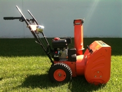 6.5 HP Snow Thrower Manual Hand Start Snow Blower