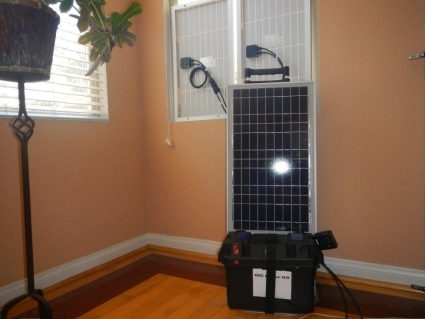 70 Amp Solar Power Generator With 3000 Watt 110 Volt System