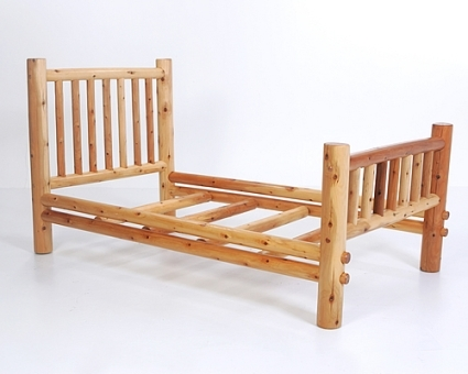 Brand New Rustic Furniture Nicholas Twin Bed
