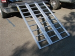 Super-Wide Aluminum Motorcycle ATV Quad Tri-Fold Loading Ramp