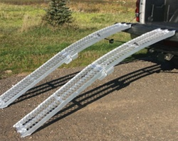 High Quality XL Aluminum Folding Arch Ramp